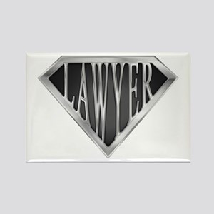 SuperLawyer(metal) Rectangle Magnet