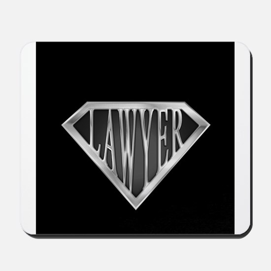 SuperLawyer(metal) Mousepad