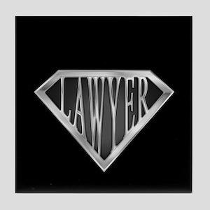 SuperLawyer(metal) Tile Coaster