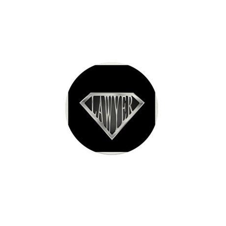 SuperLawyer(metal) Mini Button (100 pack)