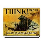 Cross Crossings Cautiously ! Mousepad