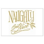 Naughty But Nice Large Poster