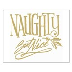 Naughty But Nice Small Poster