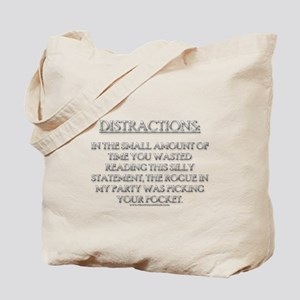 Distractions Tote Bag