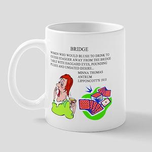 bridge game Mug