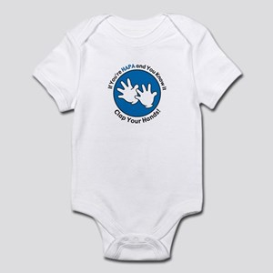 If You're HAPA and You Know It... Infant Bodysuit