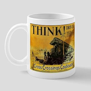 Cross Crossings Cautiously ! Mug