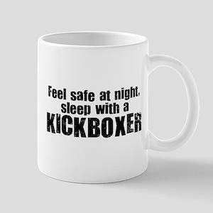 Feel Safe with a Kickboxer Mug