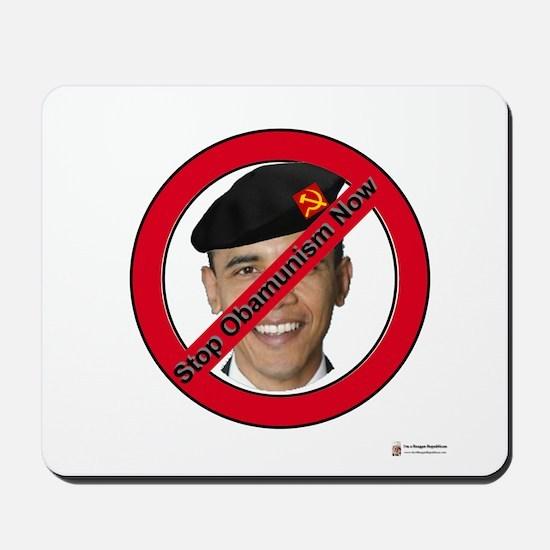 Stop Obamunism Now Mousepad