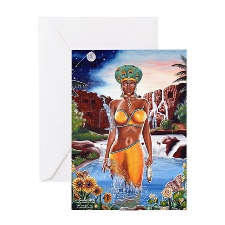 "NEW!!! ""THE ORISHA SERIES"" OS Greeting Card"