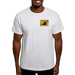 Cross Crossings Cautiously ! Ash Grey T-Shirt