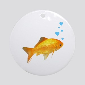 GOLDFISH Ornament (Round)