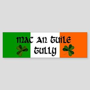 Tully in Irish & English Bumper Sticker
