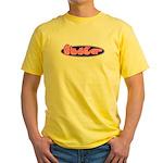 ASL Bitch Yellow T-Shirt