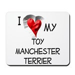 Toy Manchester Terrier Mousepad