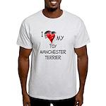 Toy Manchester Terrier Light T-Shirt