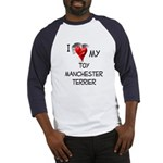 Toy Manchester Terrier Baseball Jersey