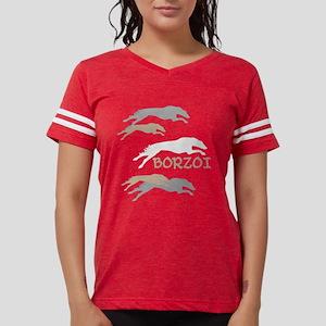 Many Borzois Running Women's Dark T-Shirt