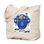 Clunes Family Crest Tote Bag