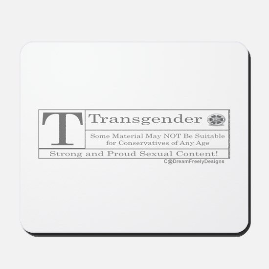 The T Contents Mousepad