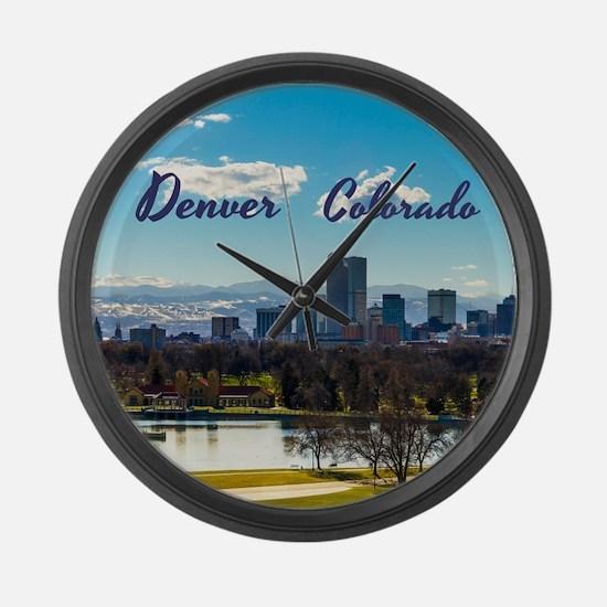Denver Large Wall Clock