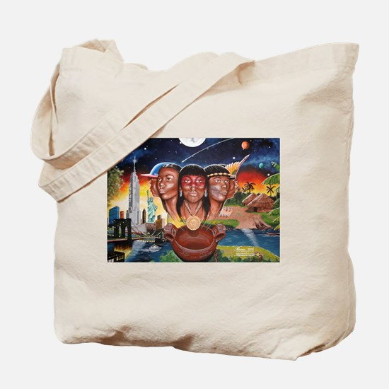 """TAINO PAST AND PRESENT"" Tote Bag"