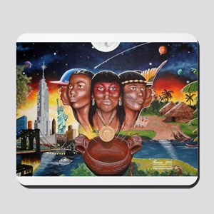 """""""TAINO PAST AND PRESENT"""" Mousepad"""