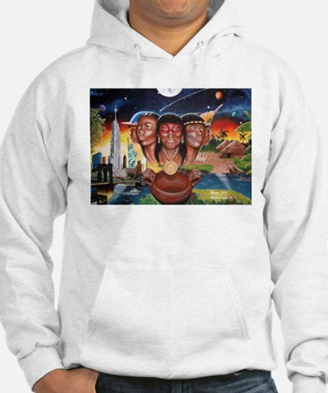 """TAINO PAST AND PRESENT"" Hoodie Sweatshirt"