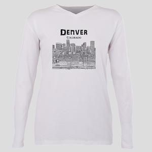 Denver Plus Size Long Sleeve Tee