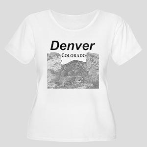 Denver Women's Plus Size Scoop Neck T-Shirt