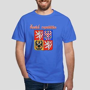 Czech Republic Coat of arms Dark T-Shirt