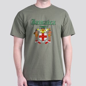 Jamaican Coat of arms Dark T-Shirt