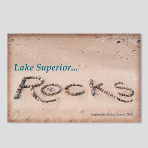 Lake Superior Rocks Postcards (Package of 8)
