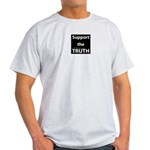 support the TRUTH Ash Grey T-Shirt