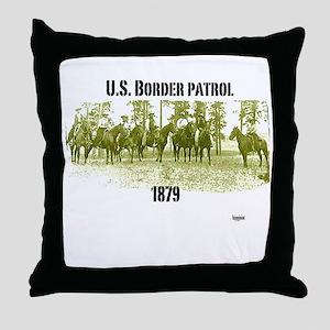 U.S. border control Throw Pillow