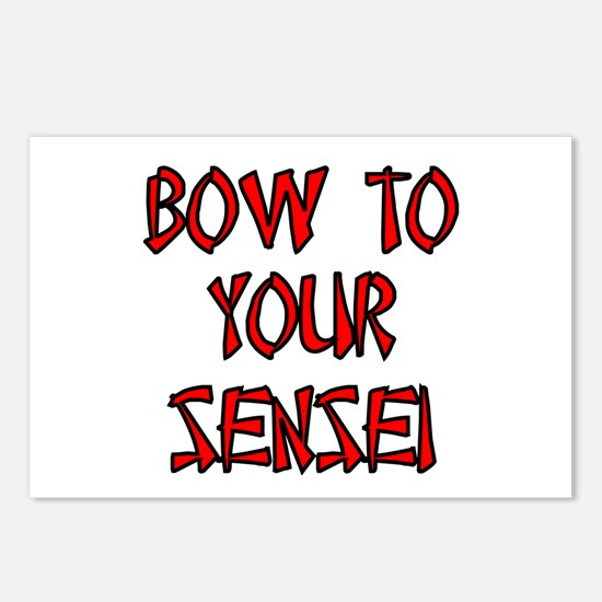 Bow To Your Sensei Postcards (Package of 8)