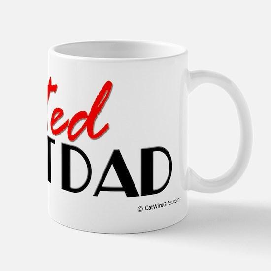 Devoted Cat Dad Mug