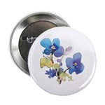 """Watercolor Flowers 2.25"""" Button (100 pack)"""