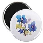 "Watercolor Flowers 2.25"" Magnet (100 pack)"