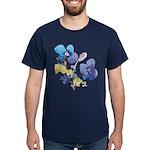 Watercolor Flowers Dark T-Shirt