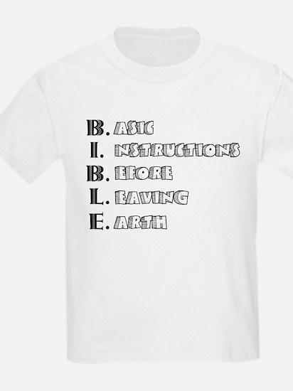LG - B.I.B.L.E. T-Shirt