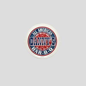 Danny's All American BBQ Mini Button