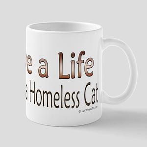 Adopt Homeless Cat Mug