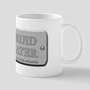 Brushed Steel - Druid Hater Mug