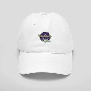 Weirdlandia Purple & Green Baseball Cap