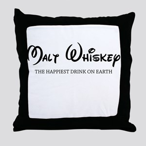 Malt Whiskey Throw Pillow