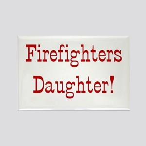 Firefighters Daughter Rectangle Magnet