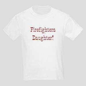 Firefighters Daughter Kids Light T-Shirt
