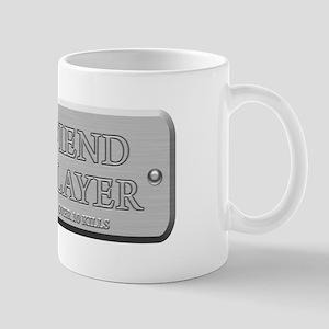 Brushed Steel - Fiend Slayer Mug