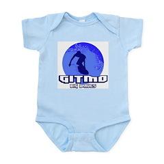 Gitmo Big Waves Infant Creeper